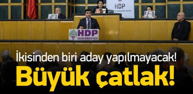 HDP'de büyük çatlak: Liste değişiyor