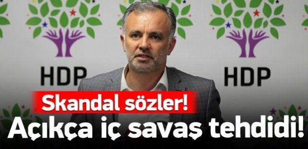 HDP'den 'boykot ve iç savaş' tehdidi