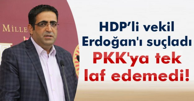 HDP Grup Başkanvekili İdris Baluken PKK'ya tek laf edemedi!