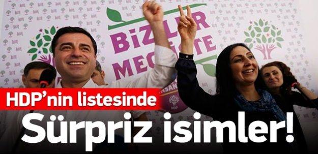 HDP'nin milletvekili aday listesi belli oldu