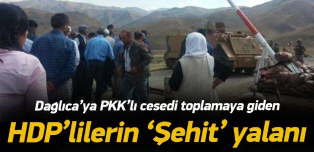 HDP'nin şehit cenazelerini PKK teslim etti yalanı
