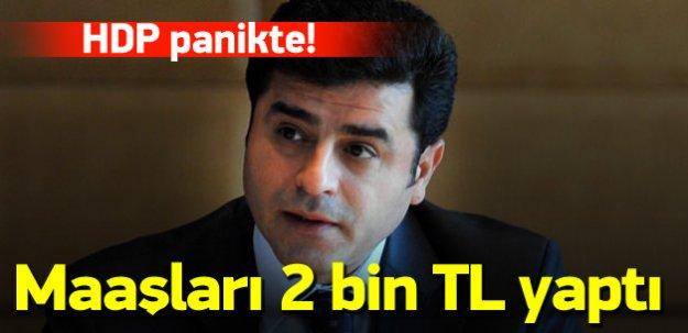 HDP panikte! Asgari ücreti 2 bin TL'ye çıkardı