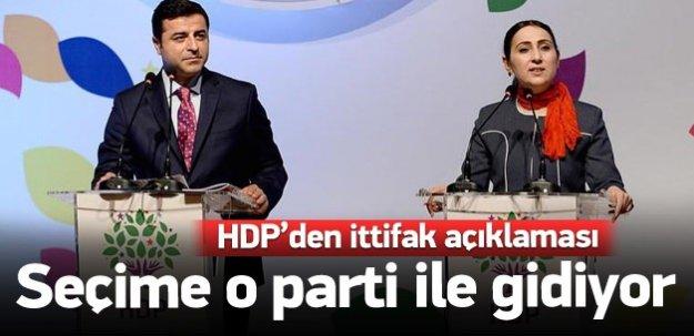 HDP seçime EMEP'le gidiyor