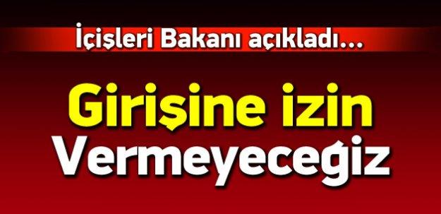 İçişleri Bakanı: HDP heyetine izin vermeyeceğiz
