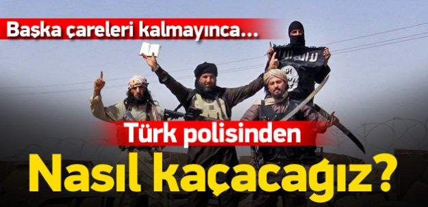 IŞİD Türk polisinden saklanma kitapçığı hazırladı