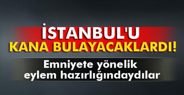 İstanbul'da eylem hazırlığında olan 3 terörist yakalandı