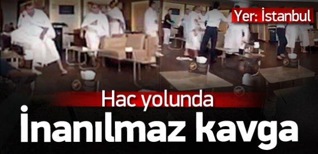 İstanbul'da hacı adayını fena kızdırdılar