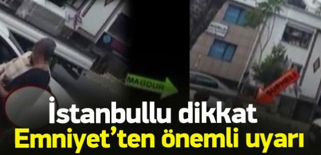 İstanbul'da yeni dolandırıcılık yöntemi