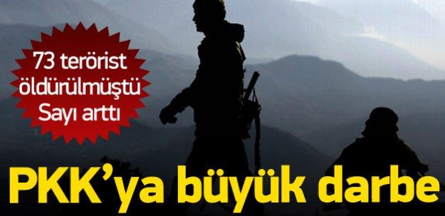 İşte Öldürülen PKK'lı sayısı: Son rakam