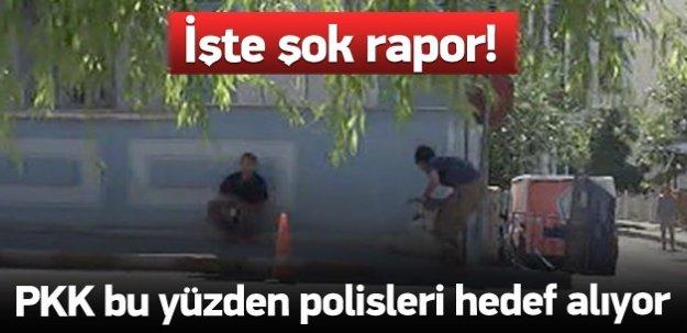 İşte PKK'nın polisleri hedef almasının nedeni