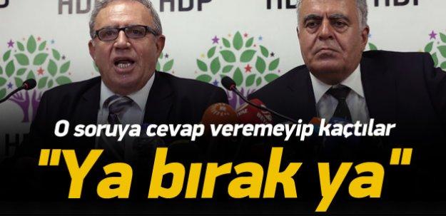 İstifa eden HDP'li bakanlara PKK sizce ne sorusu