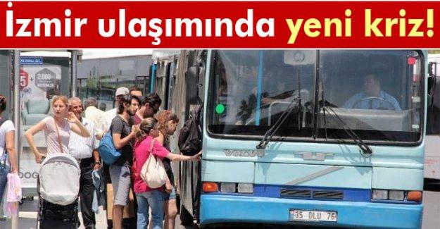 İzmir ulaşımında yeni kriz