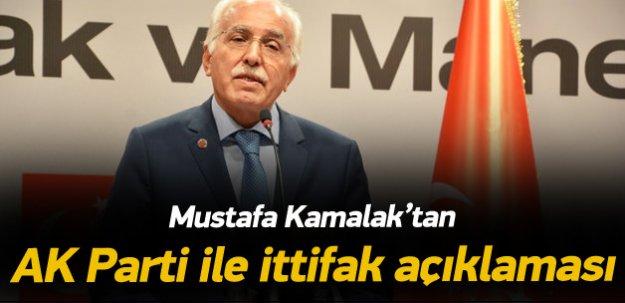 Kamalak'tan 'AK Parti ile ittifak' açıklaması
