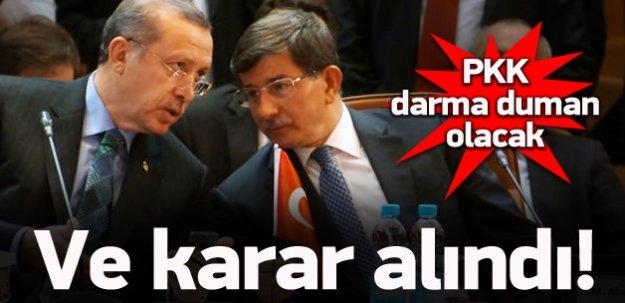 Karar alındı! PKK şimdi yandı