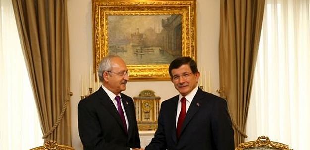 Kılıçdaroğlu Davutoğlu'ndan randevu talep etti