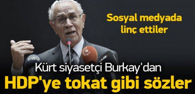 Kürt siyasetçiden HDP'ye tokat gibi sözler