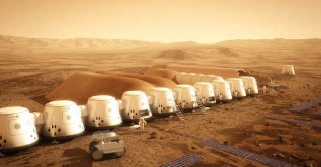 Mars'ta yeni dönem! Ev temelleri atılacak!