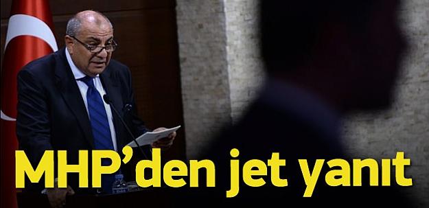 MHP'den Türkeş'e jet yanıt: Muhatabımız değil