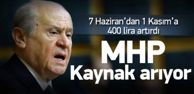 MHP kaynak arıyor! 3 Ekim'de açıklayacak