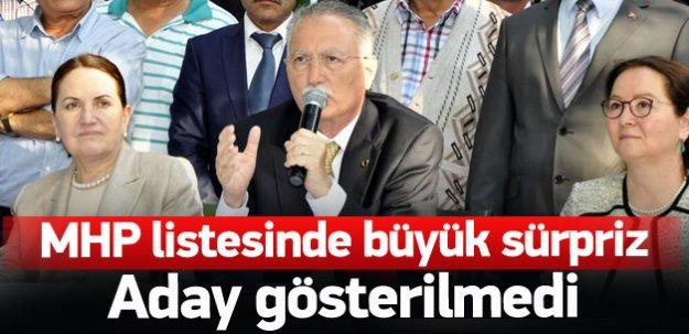 MHP Meral Akşener'i aday göstermedi