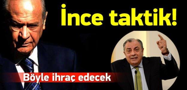 MHP'den Tuğrul Türkeş için ince taktik