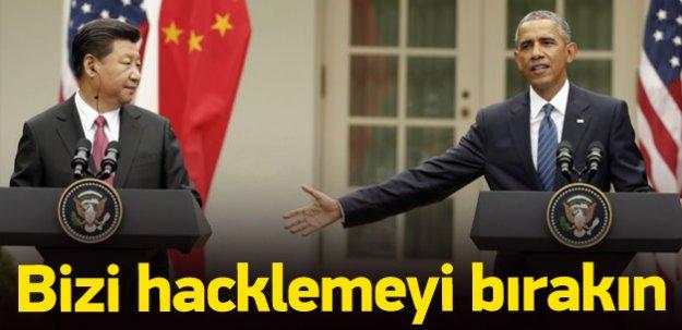 Obama'dan Cinping'e: Bizi hacklemeyi bırakın