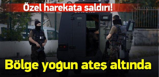 Özel harekat polislerine silahlı saldırı