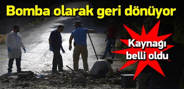 PKK bombalarının kaynağı!
