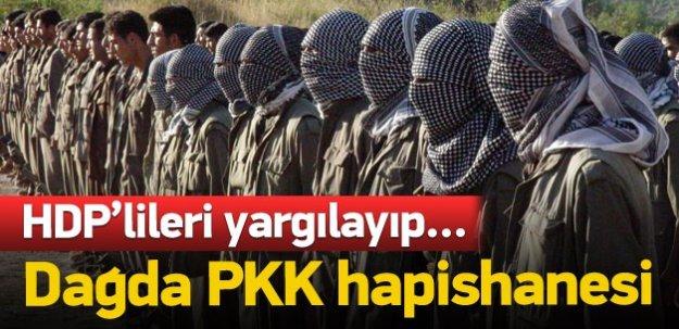 PKK Diyarbakır'da dağ hapishanesi kurmuş