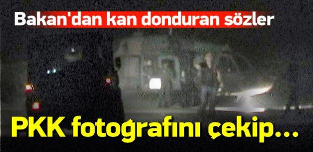 PKK, fotoğrafını çekip ölümle tehdit ediyor