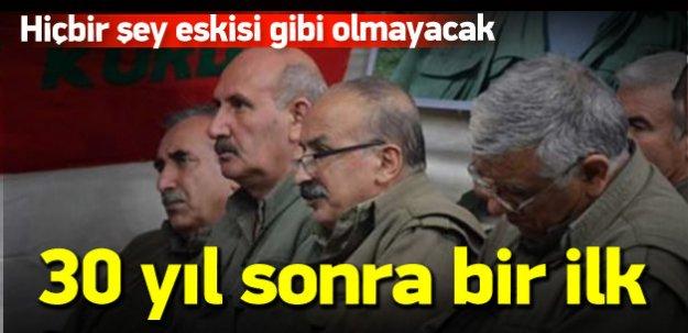 PKK ile mücadelede 30 yıl sonra bir ilk