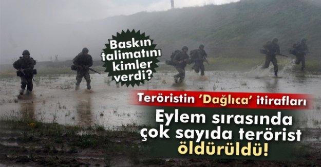 PKK'lı teröristin Dağlıca itirafı