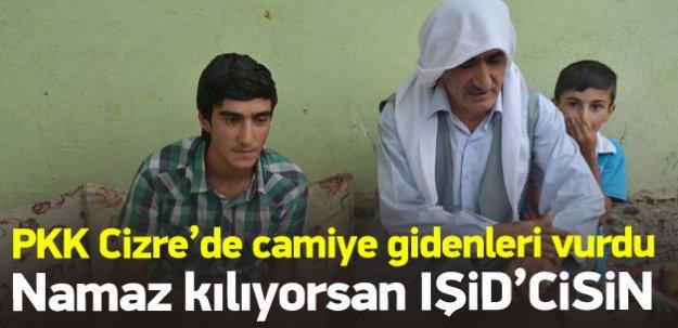 PKK'lı teröristler camiye giden vatandaşları vurdu