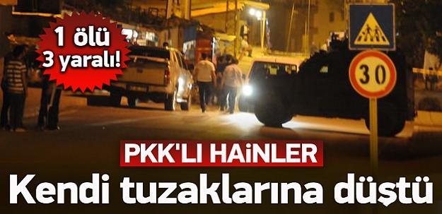 PKK'lılar kazdıkları kuyuya düştü! 1 ölü 3 yaralı