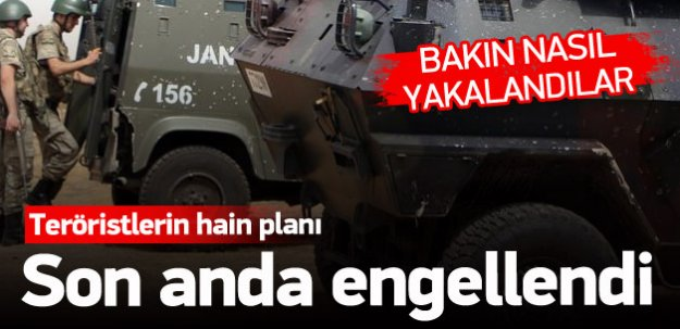 PKK'lılar polis üniformasıyla katliam yapacaktı