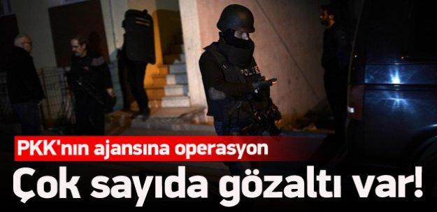 PKK'nın ajansına operasyon: 32 gözaltı