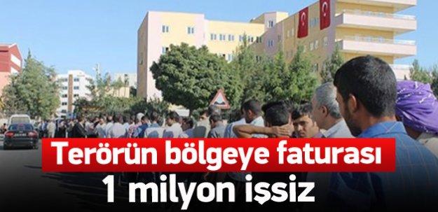 PKK'nın baraj maliyeti: 825 bin işsiz