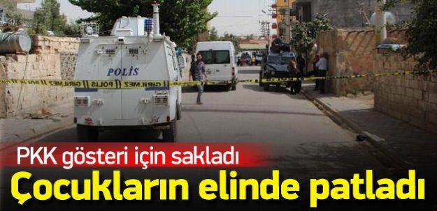 PKK'nın koyduğu bombayla oynayan 2 çocuk yaralandı