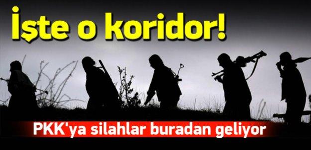 PKK'nın silah koridoru ortaya çıktı!