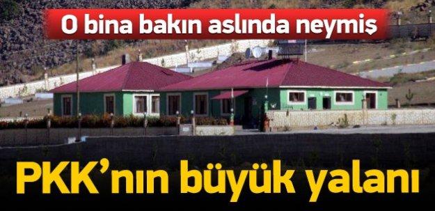 PKK'nın yalanını ortaya çıkaran fotoğraflar