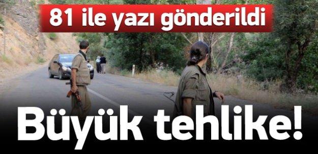 PKK'nın yeni taktiği polisi alarma geçirdi!