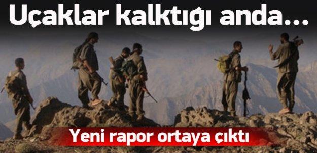 PKK operasyonlardan korunmak için...
