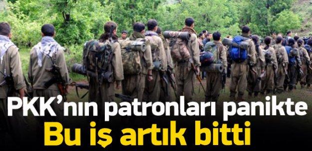 PKK'nın patronları: Neden paniklediniz?