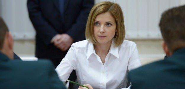 Poklonskaya, 'Barış' ödülüne aday