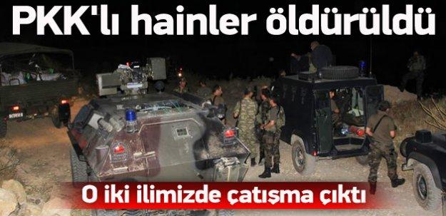 Polise saldıran PKK'lılar öldürüldü