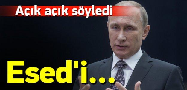Putin: Esed'i kurtarmak istiyoruz