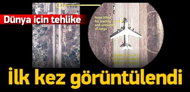Rus uçakları ilk kez görüntülendi