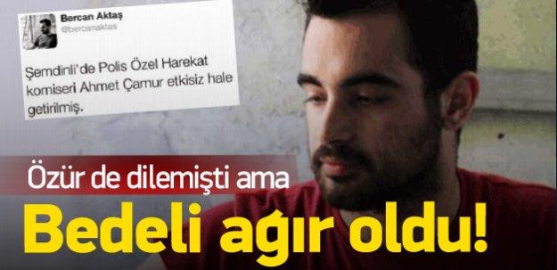 Şehit için skandal twet atan HDP'liye 7,5 yıl!