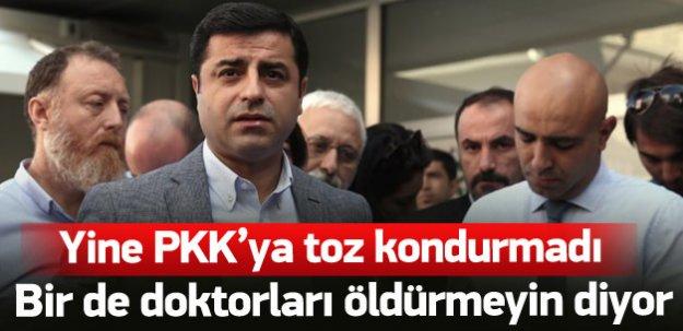Selahattin Demirtaş yine PKK'yı kınamadı