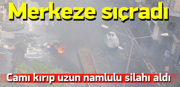 Sur'daki olaylar Diyarbakır merkeze sıçradı